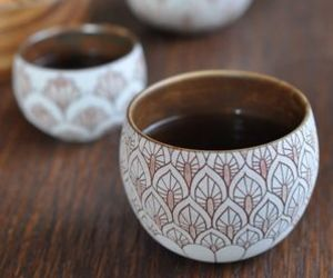 tea, japanese, and pottery image