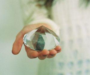 diamond, crystal, and hipster image