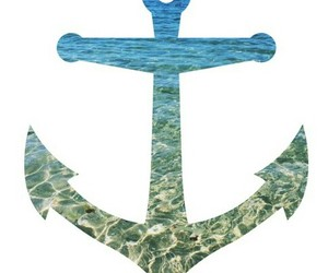 anchor, sea, and summer image