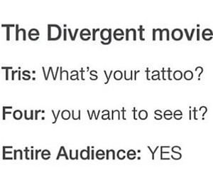 four, movie, and tattoo image