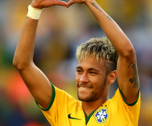 brazil, heart, and smile image