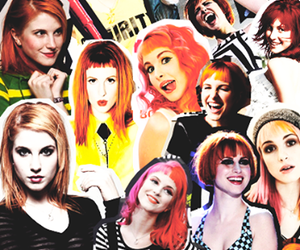Collage, hayley, and paramore image