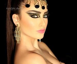 arab, Hot, and make up image