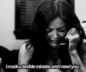 pretty little liars, mistake, and aria image