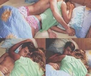couple, kiss, and romance image