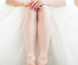 ballet, diamonds, and wedding dress image