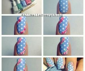 nail art, nail polish, and nailpolish image