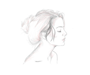 delicate, illustration, and draw image