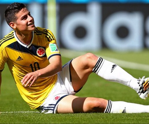 james rodriguez, colombia, and football image