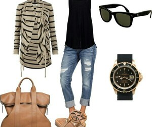 rayban, rolex, and toryburch image