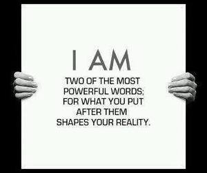 quotes, i AM, and words image
