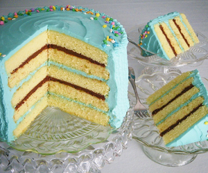 cake, pastel, and sweets image