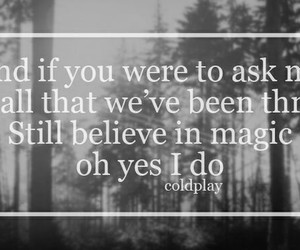 coldplay and magic image