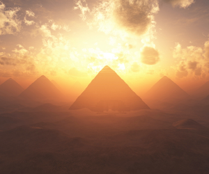 pyramid, egypt, and beautiful image