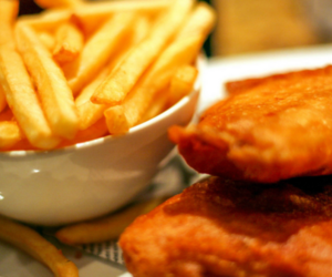 chips, batter, and british image
