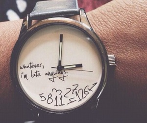 watch, Late, and time image