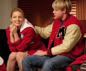 glee, fabrevans, and dianna agron image