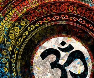 hippie, Ohm, and om image