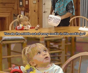 cookie, full house, and funny image