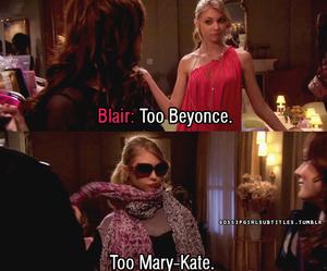 gossip girl, blair waldorf, and beyoncé image