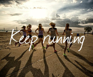 running, run, and fitness image