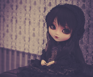 antique, doll, and lolita image