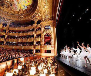 ballet, ballerina, and stage image
