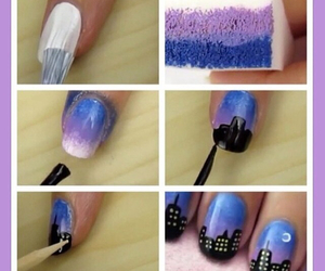 nails, city, and night image