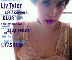 cover, issue, and liv tyler image