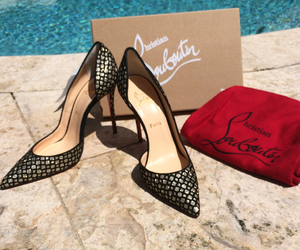 chanel, louboutin, and designer image