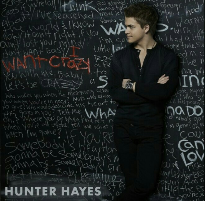 hunter hayes and i want crazy image