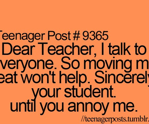 school, teenagerpost, and funny image