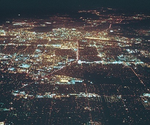 city, lights, and dreams image