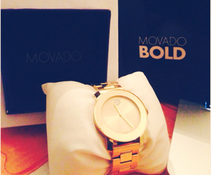 bold, watch, and movado image