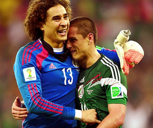 chicharito, mexico, and memo ochoa image