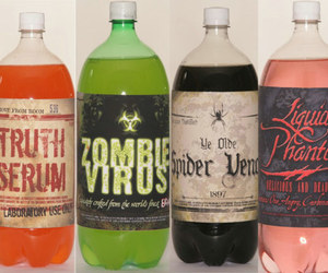 drink, zombie, and soda image
