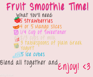 smoothie, fruit, and delicious image