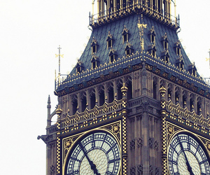 Big Ben, victorian, and photography image
