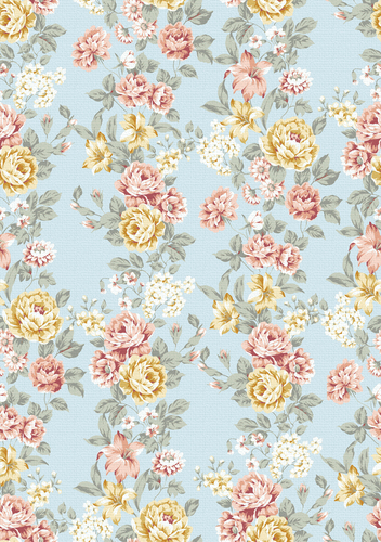 Vintage Floral Wallpaper From Tumblr On We Heart It