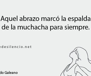 abrazo, frase, and quotes image