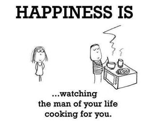 cooking, family, and happiness image