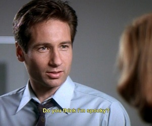 90s, david duchovny, and fox mulder image