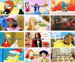 cartoon network, hannah montana, and spongebob squarepants image