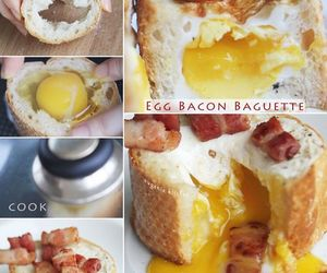 bacon, diy, and egg image
