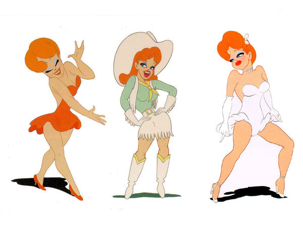 Tex Avery Red By Syc1959 On Deviantart On We Heart It