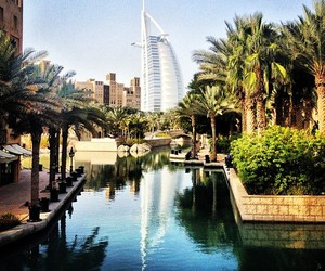 Dubai, summer, and city image