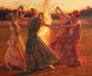 dance and women image