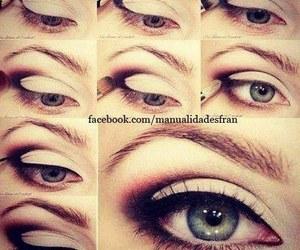 beautiful, eyes, and fashion image