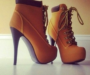 brown, shoe, and love image