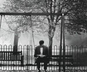doctor who, matt smith, and sad image